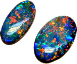 high quality black opal