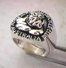 custom  club ring