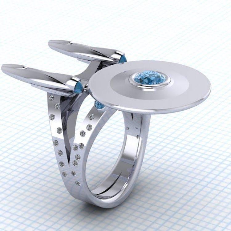 star trek enterprize ring