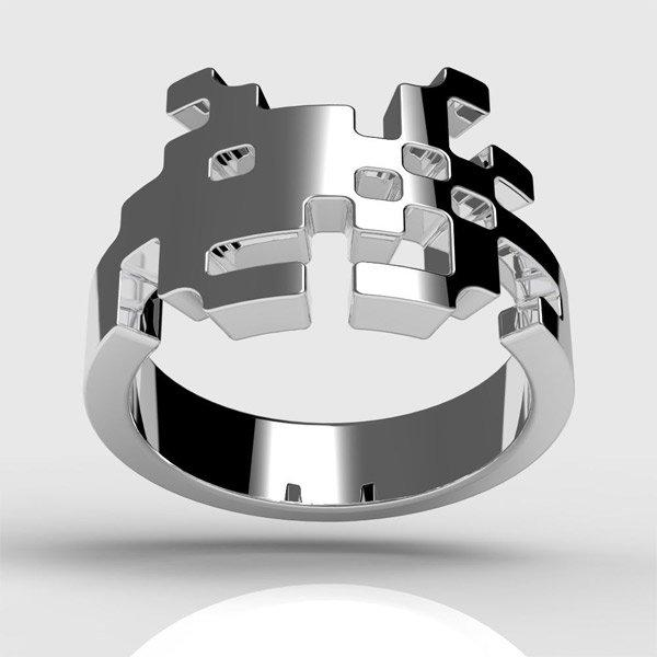 space-invader-ring
