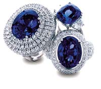 tanzanite rings group