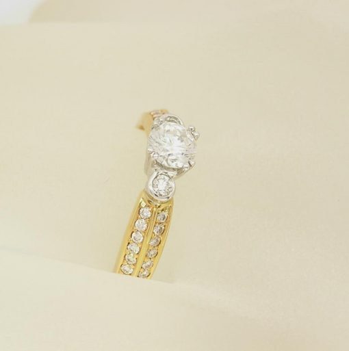 Engagement Style Ring