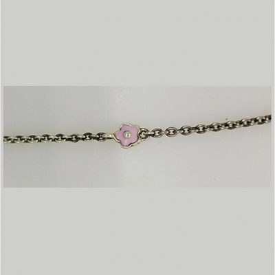Sterling silver spacer chain
