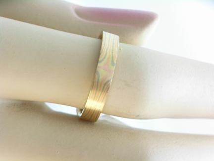 G26119 Mokume Ring