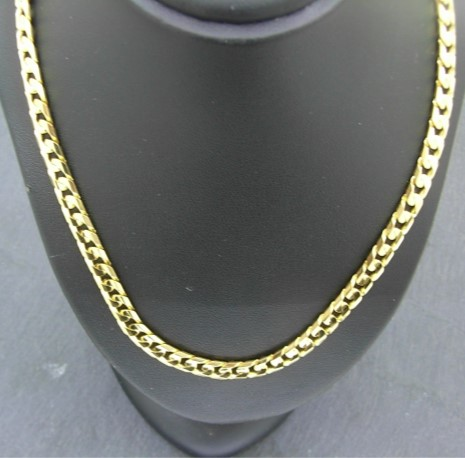 G33414 Flat Curb Necklace