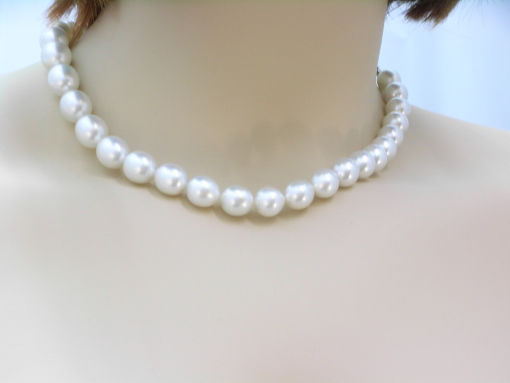 Cultured South Seas pearl necklace