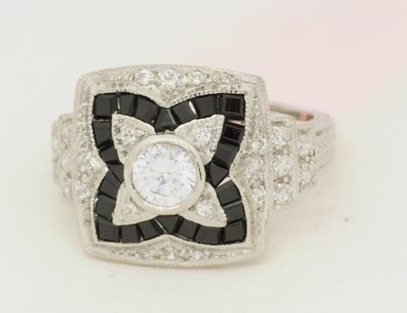R11050 Art Deco Ring