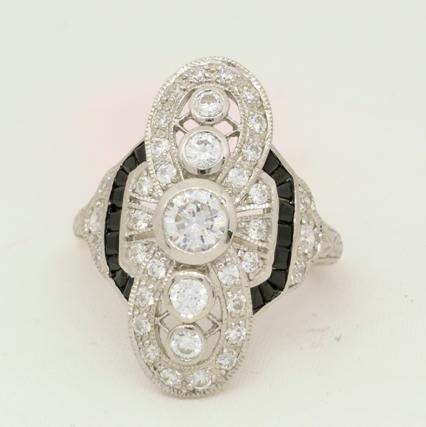R11051 Art Deco Ring