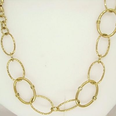 Yellow Gold Necklet