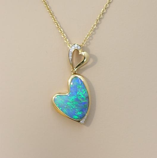 i13666 opal pendant