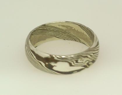 R11132 Mokume Gane Ring