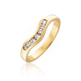 simple curved band