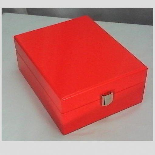 Orange Jewellery Box