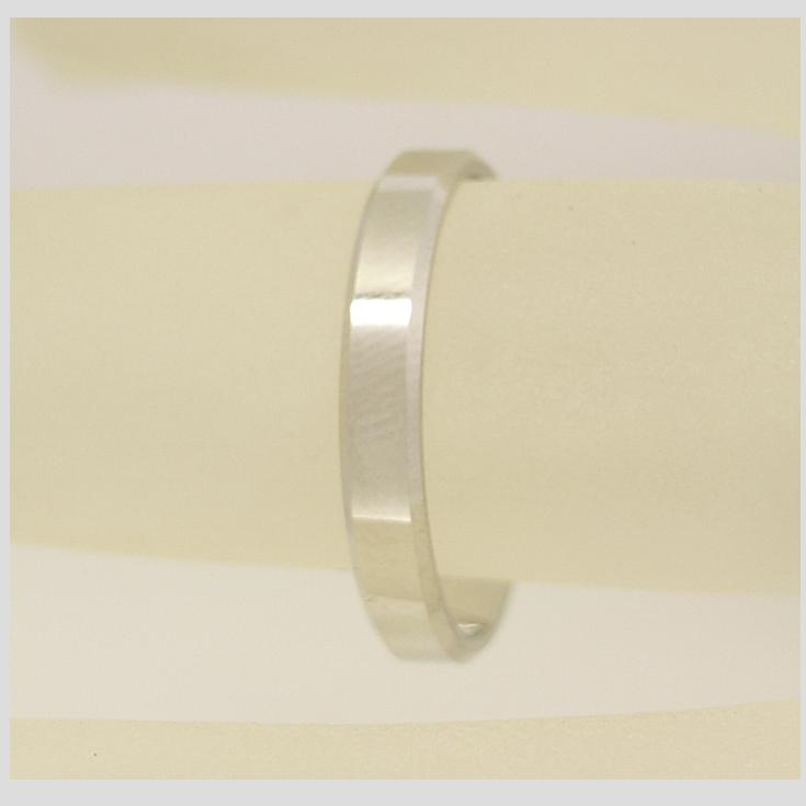 R11212 3mm Flat Wedding Ring