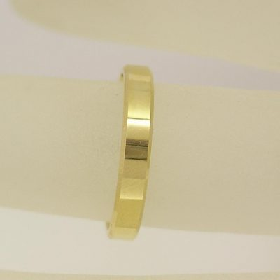 3mm Flat Wedding Ring