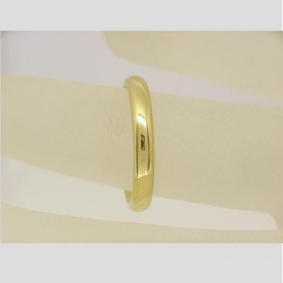 3mm wedding band