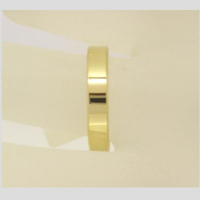 4mm Flat Wedding Ring