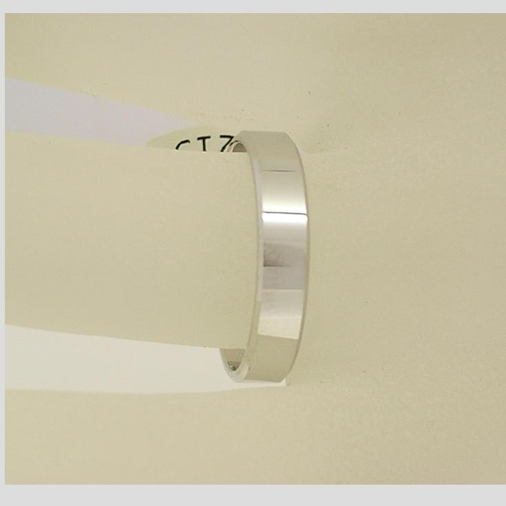 R11213 4mm Flat Wedding Ring