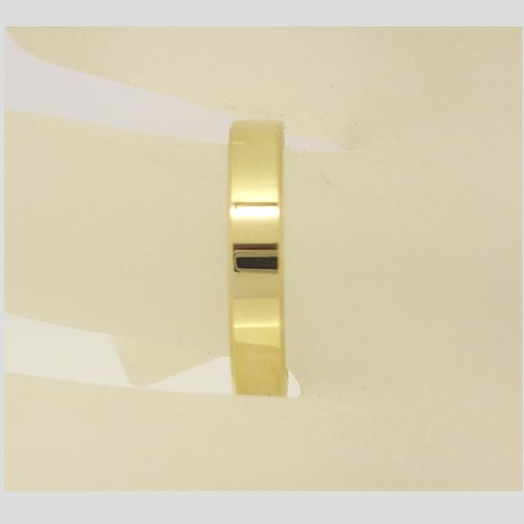R11503 4mm Flat Wedding Ring