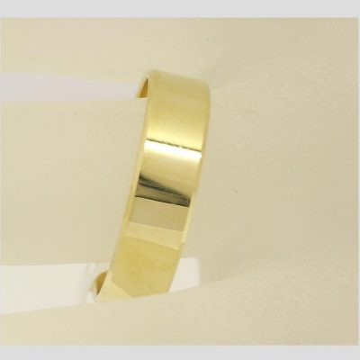 6mm Flat Wedding Ring