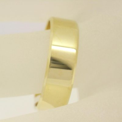 7mm Flat Wedding Ring