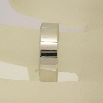 7mm Flat Wedding Ring