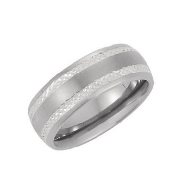 Ornate Titanium Ring