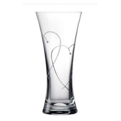 Promises Heart Vase