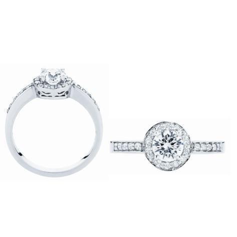 Halo Engagment Ring