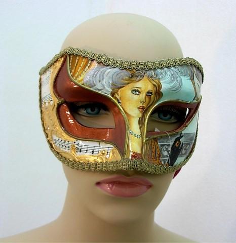 G12072 Parisienne Opera Mask