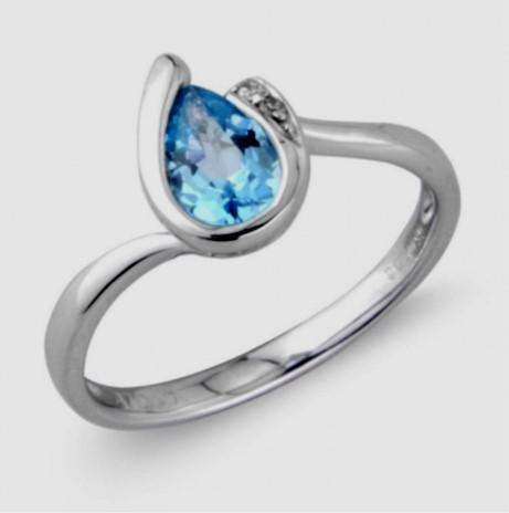 R11434 Blue Topaz Ring