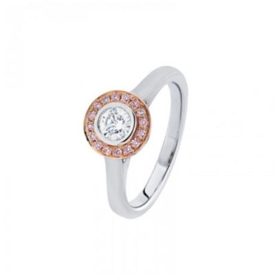 R11425 - Pink Diamond Ring