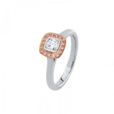 R11423 - Pink Diamond Ring
