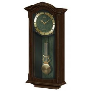 CL11-H1879 - Adina Wood Chiming Wall Clock