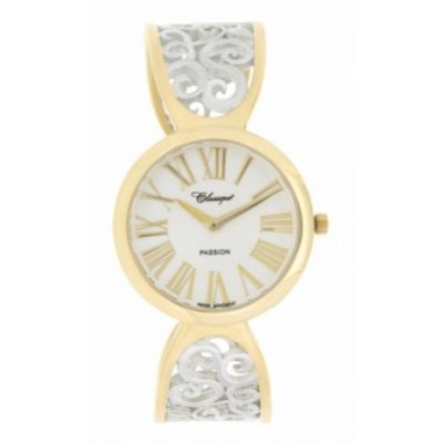 W12705 28/148B Classique Elegance Two Tone Cuff Bangle Watch