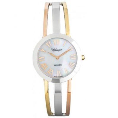 W12704 28/130T Ladies 3tone Classique Elegance Watch