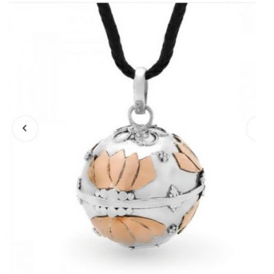 Lotus Harmony Ball Pendant (Large)