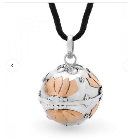 Lotus Harmony Ball Pendant (Large)