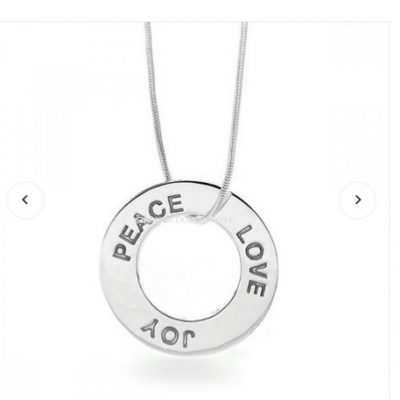 G31151 - Peace Love Joy Pendant