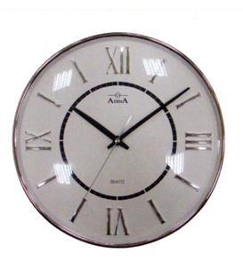 CL10-A1010B - Adina 30cm round chrome wall clock