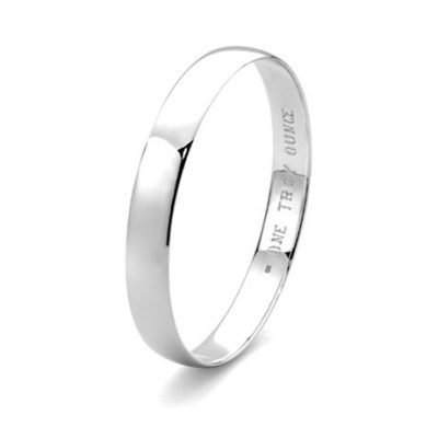 G31214 - Sterling Silver Troy Ounce Bangle