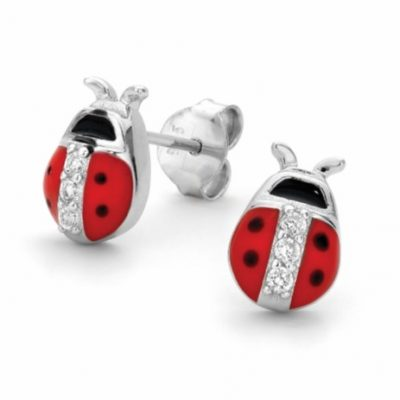 G31133 - Ladybird Stud Earrings