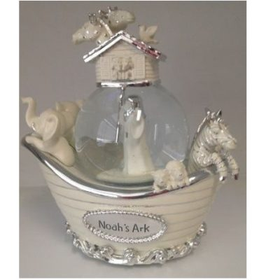 "Musical Snow Globe ""Noah's Ark"""