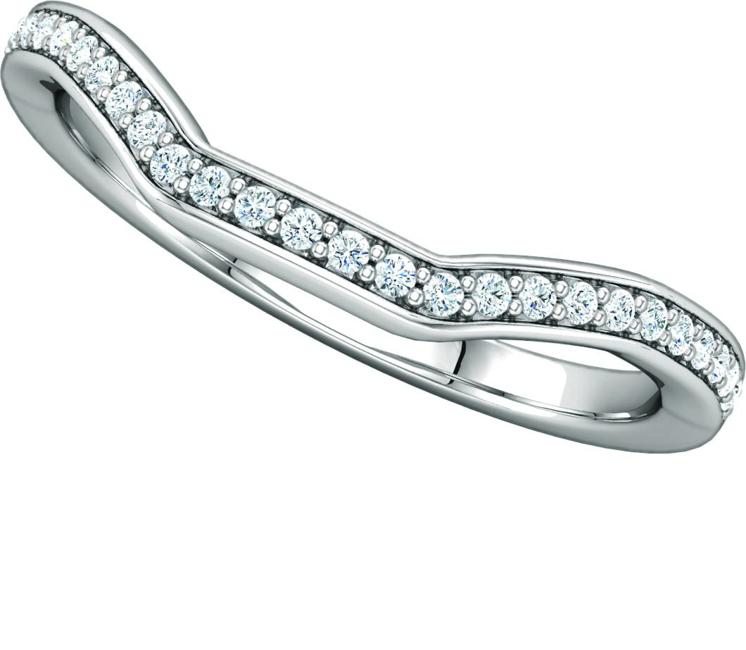 122167 Fitted Wedding Ring