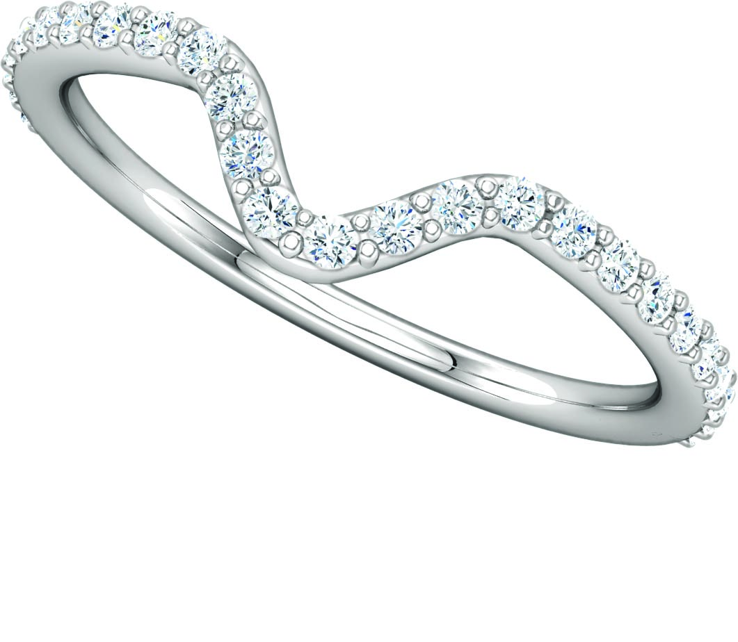 122186 Fitted Wedding Band