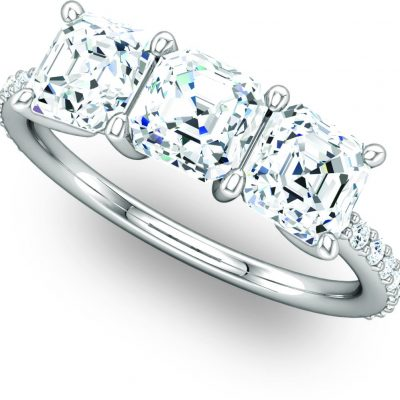 122191 Trilogy Engagement Ring