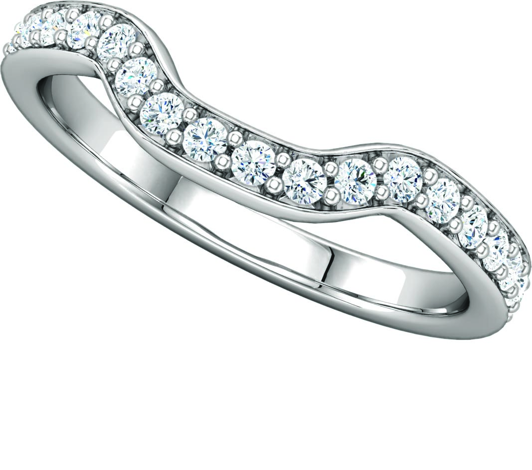 122286 Fitted Wedding Band
