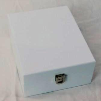 White Wooden Jewellery Box