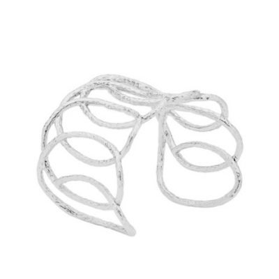 Open Swirl Cuff Bangle