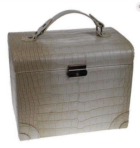 Leather Look Medium Sized Jewellery Box